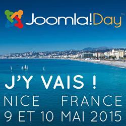 Je vais au Joomladay France 2015